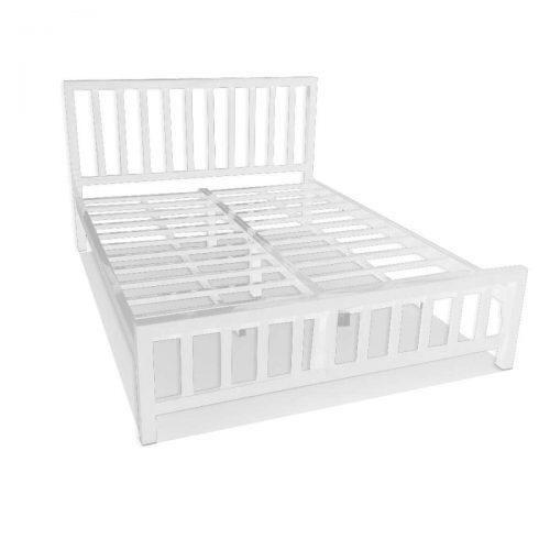 OTP เตียงเหล็กทูโทน รุ่นคอนโด เหล็กหนาพิเศษ 6ฟุต