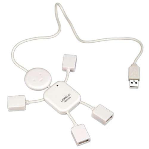USB HUB ช่องต่อ USB 2.0 แบบ 4 ช่อง